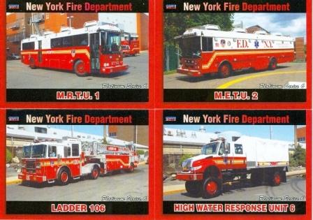 New York FD Platinum Cards