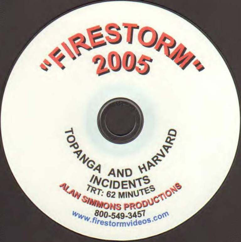 California Firestorm 2005