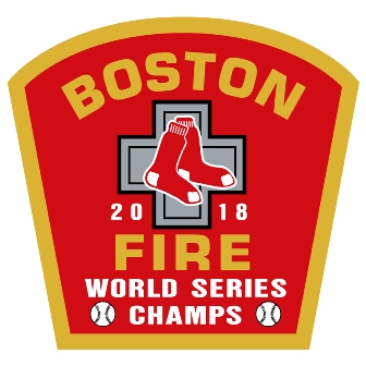 Boston Fire Red Sox World Series Champions Decal