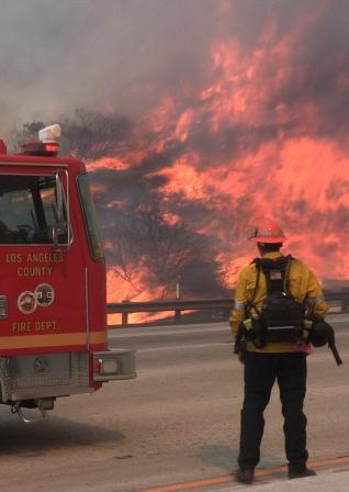 La Tuna Fire California