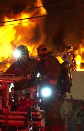 The Saddle Ridge Fire DVD