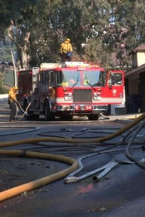 Skirball Fire California