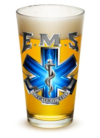 EMS Pint Glass