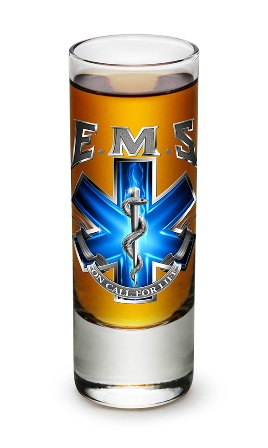 EMS Shot Glass