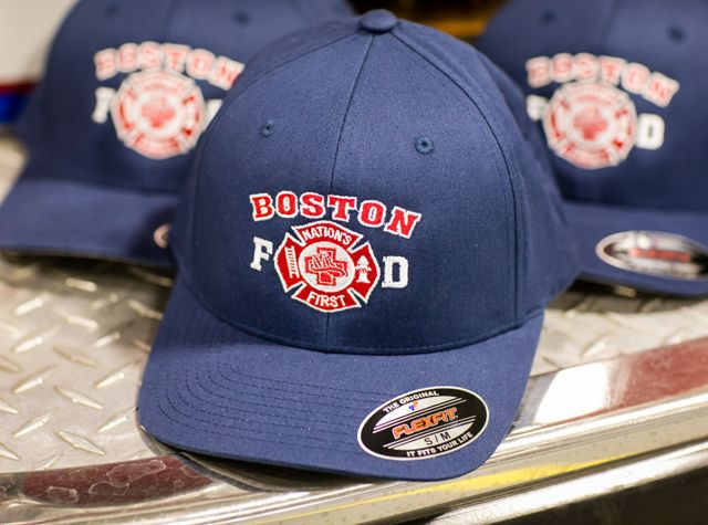"Boston Fire ""Nation's First"" FlexFit Cap"