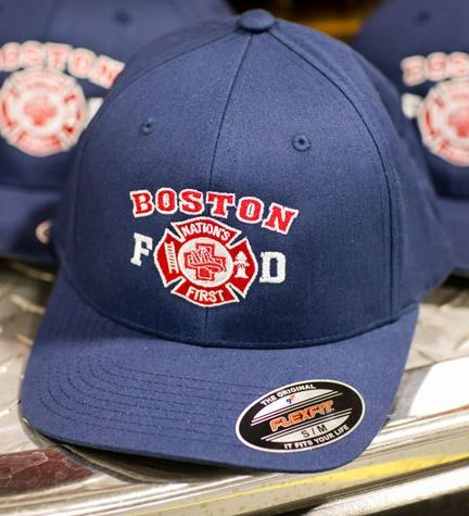 "Boston Fire ""Nation's First"" FlexFit Cap"