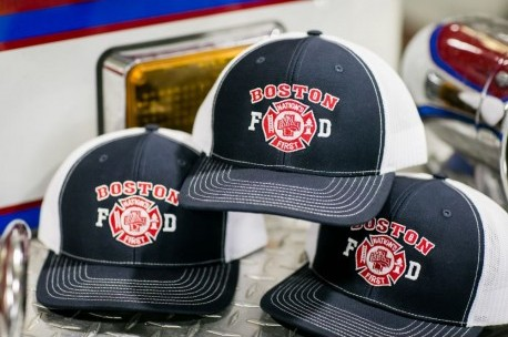 "Boston Fire ""Nation's First"" Trucker Style Cap"
