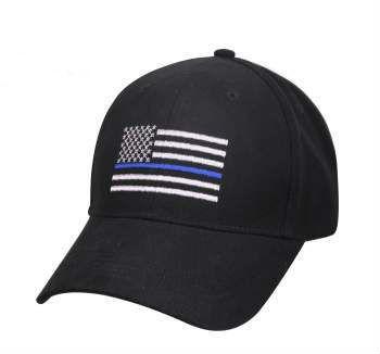 Thin Blue Line Flag Black Cap