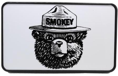 Smokey The Bear Hitch Cover