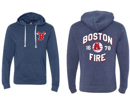 Boston Fire Baseball Hoodie