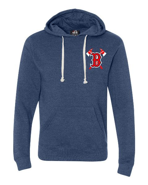 Boston Fire Baseball 1678 Pullover Fleece Hoodie