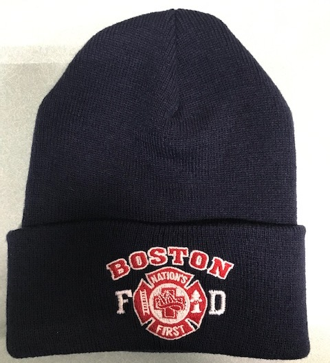 "Boston Fire ""Nation's First"" Winter Cap"