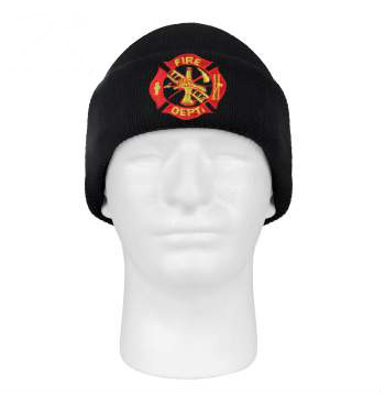 Fire Department Embroidered Winter Hat
