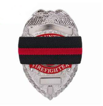 Fire Department Mourning Band