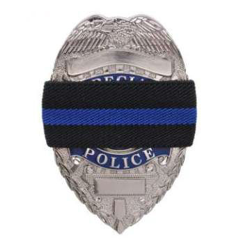 PPOlice Department Mourning Band