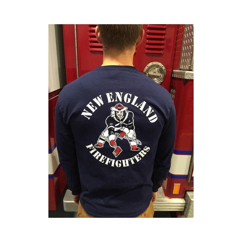 New England Firefighter Tee Shirt