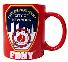 Red FDNY Coffee Mug