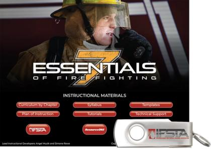 Essentials of Fire Fighting, 7th Edition Curriculum USB