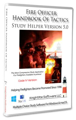 Fire Officer Handbook Of Tactics  Study Helper Version 5.0