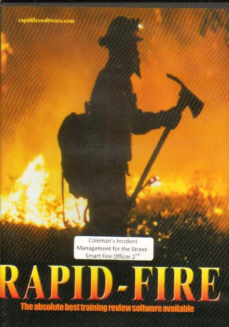 Rapidfire Firefighting Study Software for Windows