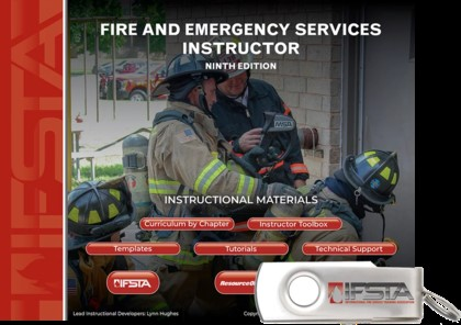 Fire and Emergency Services Instructor, 9th Edition Curriculum USB
