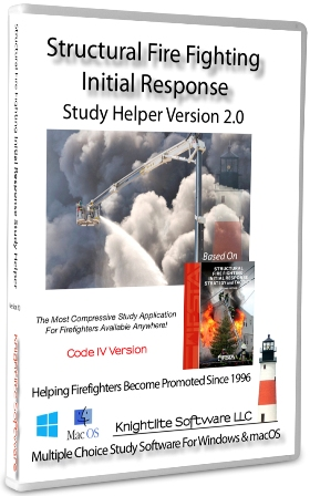 IFSTA Structural Fire Fighting Initial Response Study Helper 2.0