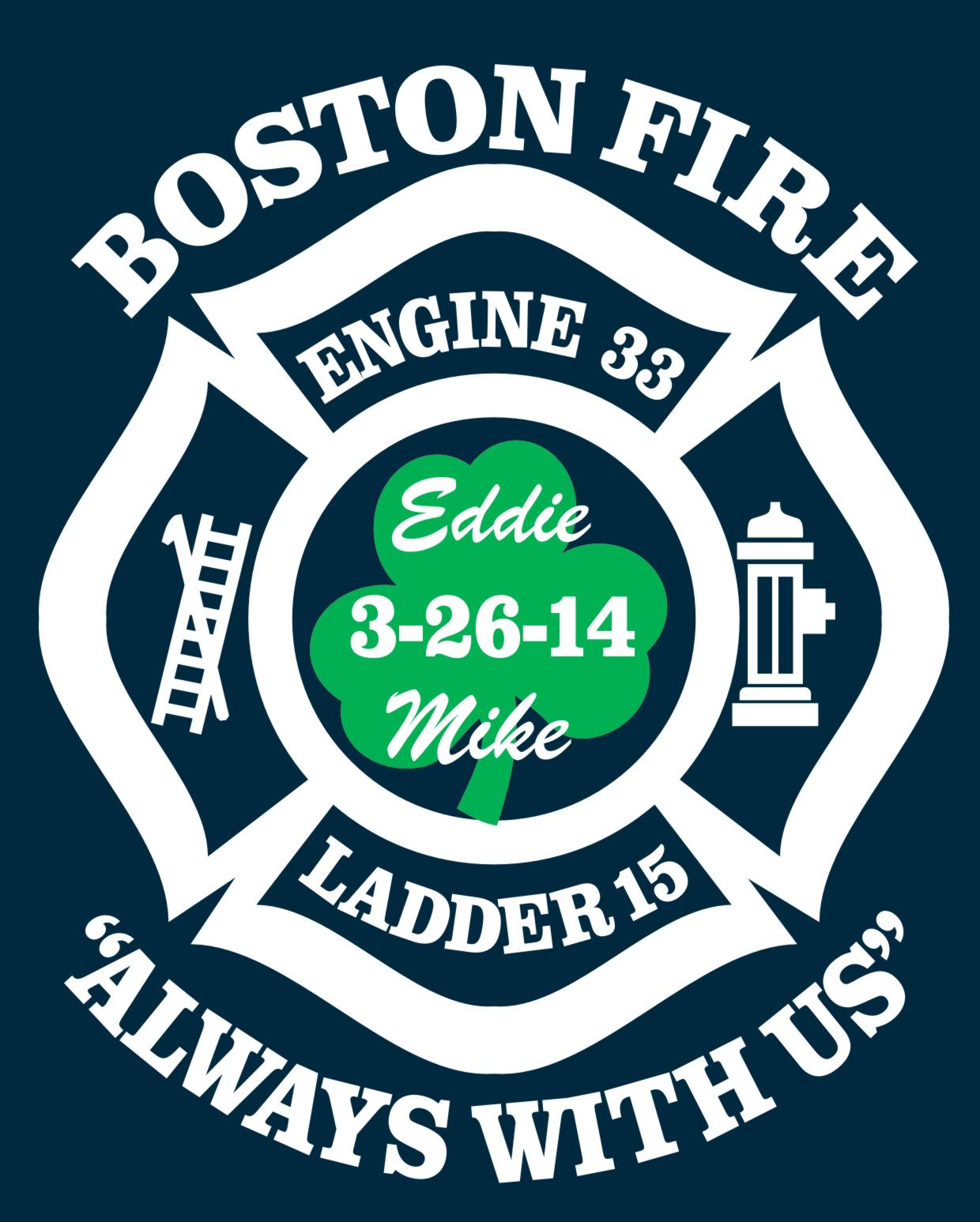 BFD E33/L15 Walsh/Kennedy Memorial Shirt