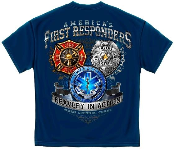 America's First Responders Shirt