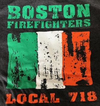 Boston Fire Local 718 Tee