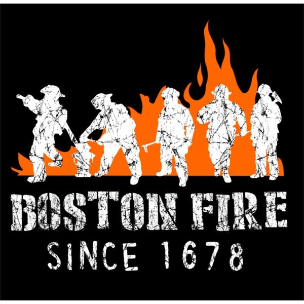 Boston Fire Gear Shirts