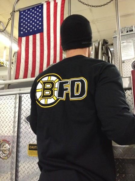 BFD Hockey Long Sleeve Back