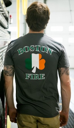 Boston Fire Charcoal Back