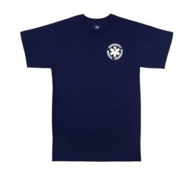 EMT 2-Sided Navy Tee Shirt