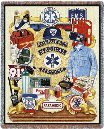 EMS Throw Blanket