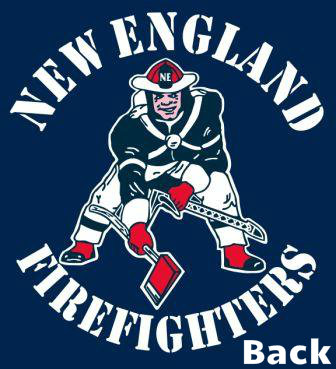 New England Firefighter Tee Shirts