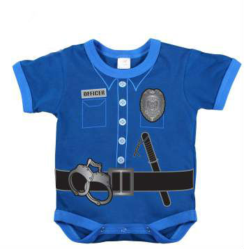 Infant One Piece Police Uniform