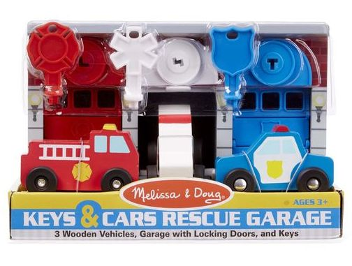 Keys & Cars Rescue Garage Toy